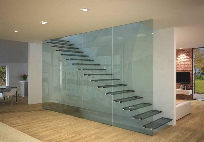 Escaleras con sistema Glasstep